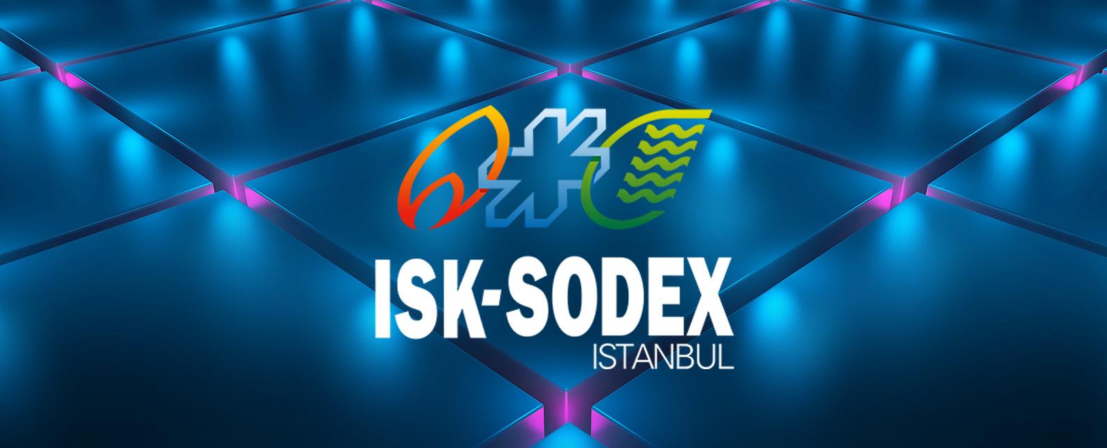 Yeniliklerimizi ISK SODEX İstanbul 2021 Fuarı'nda keşfedin!